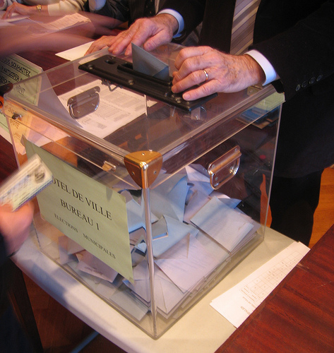 Vosges : Podium Sarkozy-Hollande-Le Pen