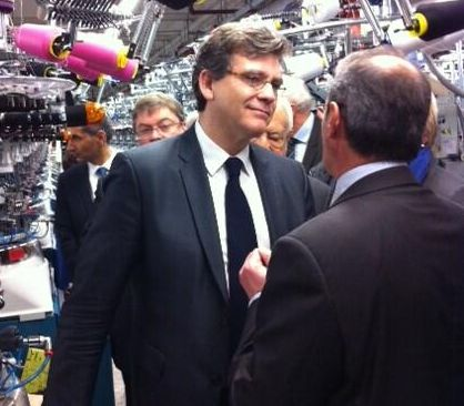 Arnaud Montebourg défend le Made In Vosges