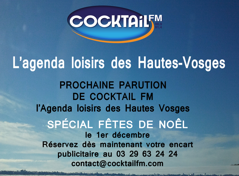AGENDA LOISIRS COCKTAIL FM Dec 2017 Jan 2018