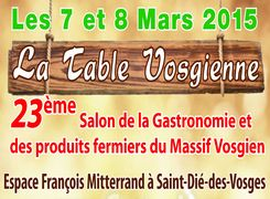 LA TABLE VOSGIENNE