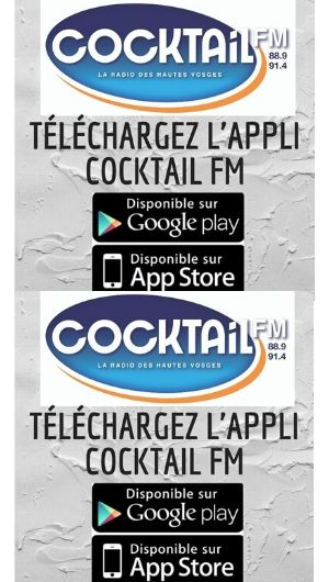 Appli COCKTAIL FM 2020