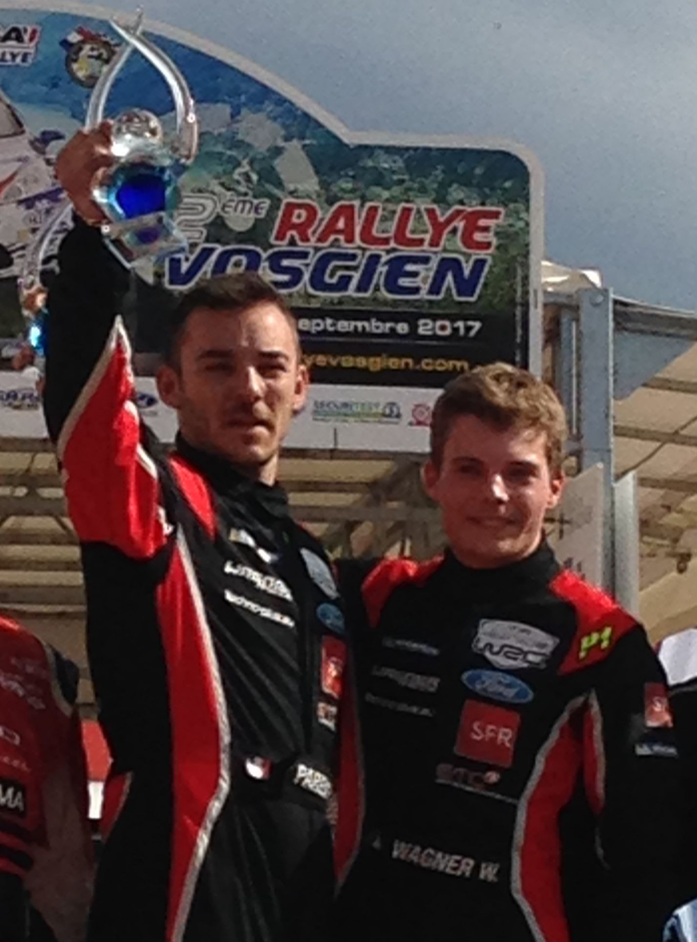 Rallye Vosgien : William Wagner en patron