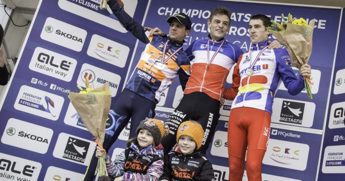 Cyclo Cross : le Vosgien Steve Chainel Champion de France